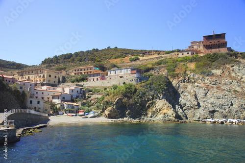 Fotografie, Obraz  Italia, Toscana, Livorno, isola della Gorgona