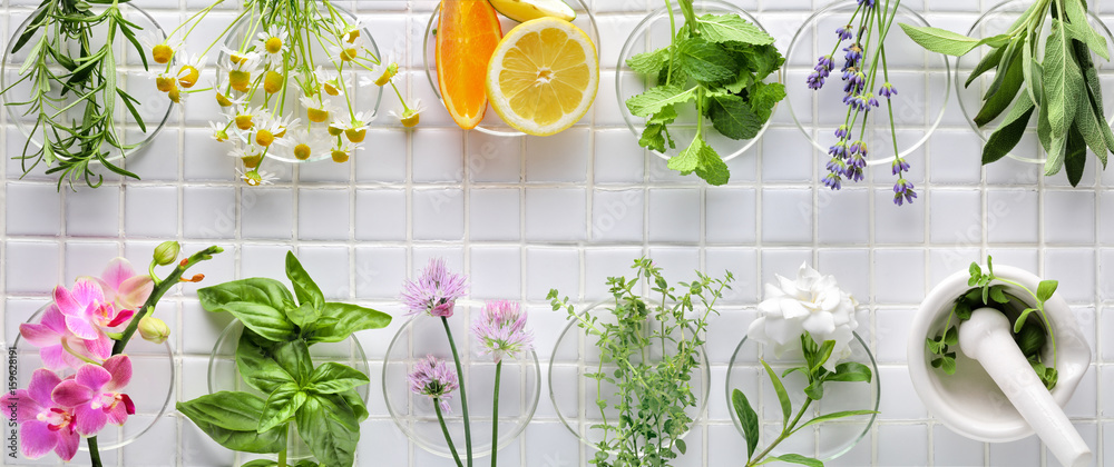 Fototapety, obrazy: Fresh herbs
