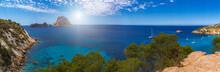 Es Vedra Felsen Panorama - Ibiza -Spanien