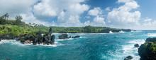 Panorama Of Coast At Waianapan...