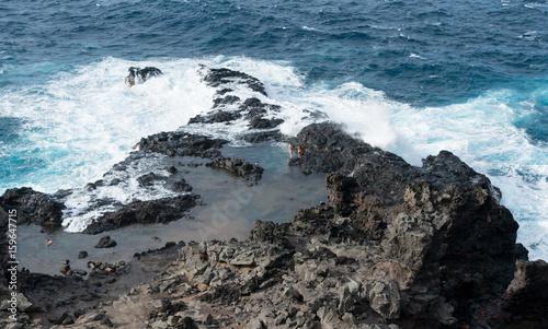 Obraz na plátne  Olivine Pools on north east coastline of Maui