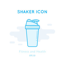 Sport Shaker Icon Isolated On ...