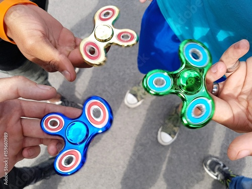 Photo Fidget spinner