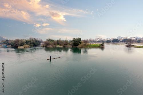 Foto op Canvas Guilin China Guilin Lijiang River scenery