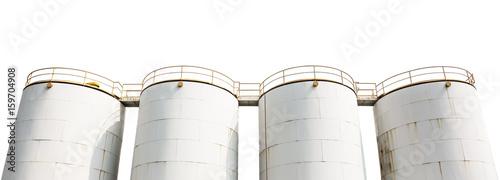Fényképezés  Oil storage tank