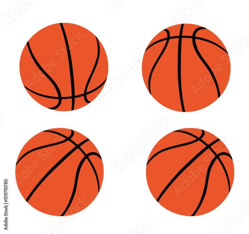 Tela  Set of Orange Basketballs