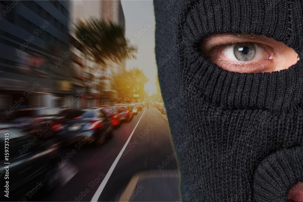 Fototapeta Thief.