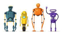 Robot Character. Technology, F...
