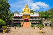 Leinwanddruck Bild - Golden Temple of Dambulla