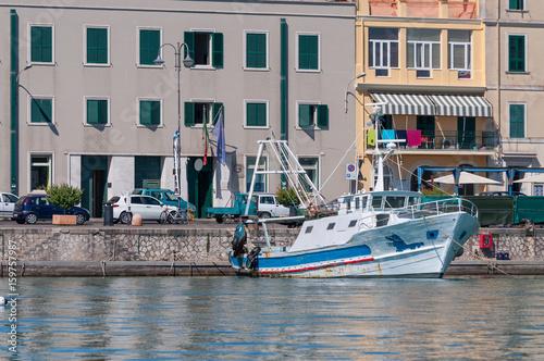 Anzio Seaport place Canvas Print