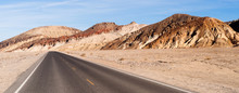 Panoramic View Open Road Death...