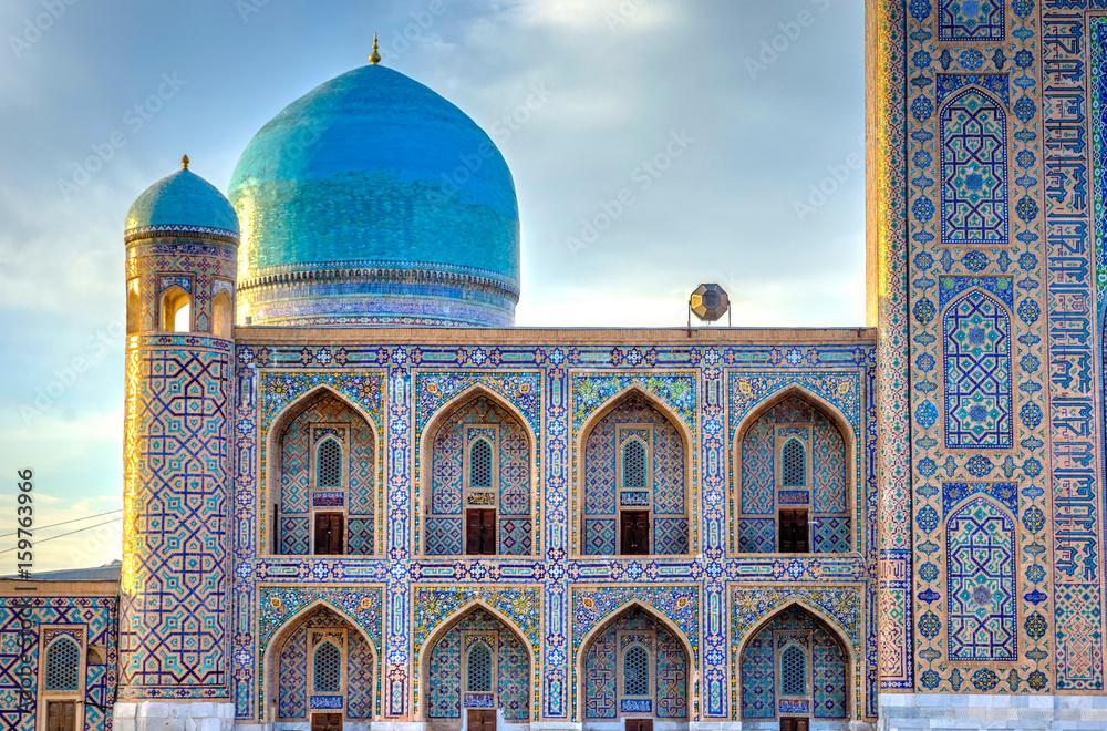 Fototapety, obrazy: Tilya Kori madrasah, Registan, Samarkand