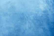 Abstract Blue Painting Backgro...