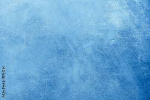 Abstract blue painting background - 159784364
