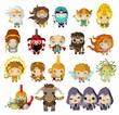 cute greek mythology gods and creatures