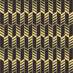 Panel Szklany Podświetlane Art Deco Abstract art deco seamless pattern_2