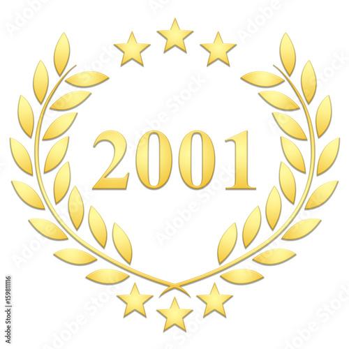 Fotografia  Lauriers 3 étoiles 2001 sur fond blanc