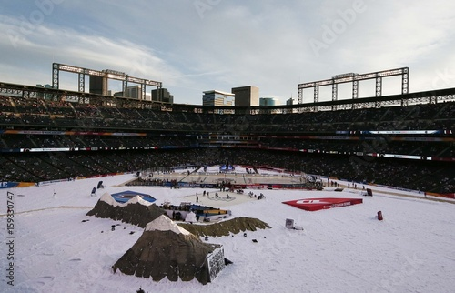 57e33c70798 NHL: Stadium Series-Detroit Red Wings at Colorado Avalanche - Buy this  stock photo and explore similar images at Adobe Stock | Adobe Stock