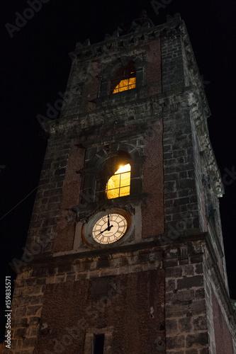 Fotografia, Obraz  Italy Sicily Adrano by night