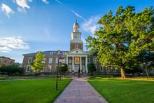 Holmes Hall At Morgan State University In Baltimore, Maryland.