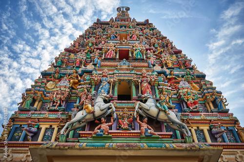 Stickers pour portes Edifice religieux Sri Mahamariamman hindu temple in Kuala Lumpur