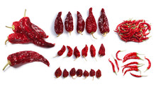 Dried Chile Peppers: Hot Wax, ...