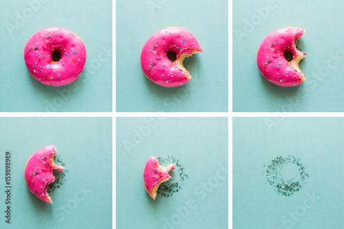 Bite-on pink donut
