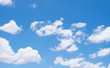blue sky with cloud background for texture
