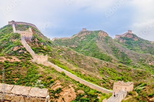 Papiers peints Muraille de Chine View on great wall by Jinshanling in China