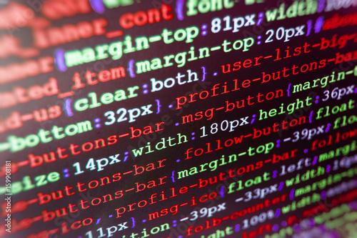 New technology revolution  Big data database app  Website