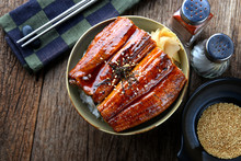Japanese Eel Grilled With Rice...
