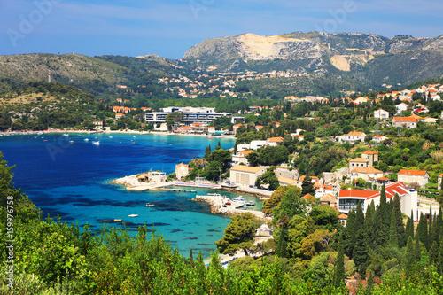 Fototapety, obrazy: Adriatic coast in Croatia, Europe