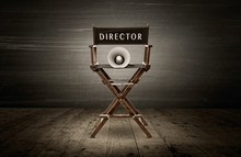 Director Chair And Megaphone, ...