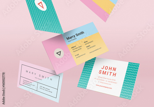 business cards layouts