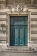 Tür an der Nationaloper in Montpellier, Südfrankreich