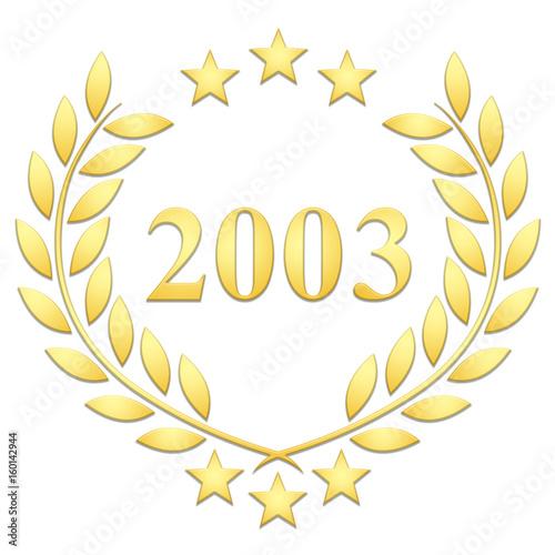 Fotografia  Lauriers 3 étoiles 2003 sur fond blanc