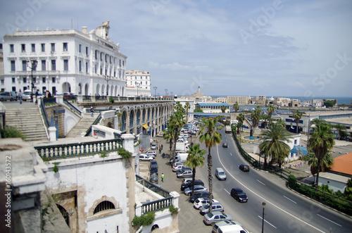 Alger et casbah Wallpaper Mural