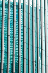 detail shot of modern architecture facade,business concepts,shot in city of China.