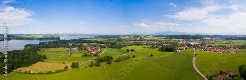 Aerial: Lake