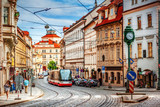 Fototapeta Uliczki - Prague street