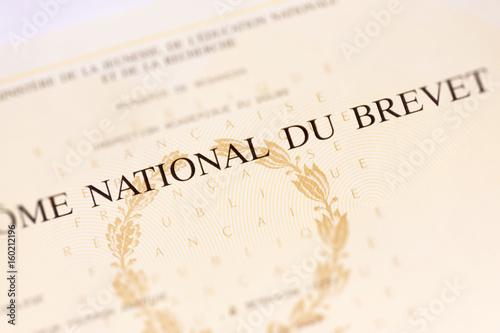 Foto  Diplôme National du Brevet