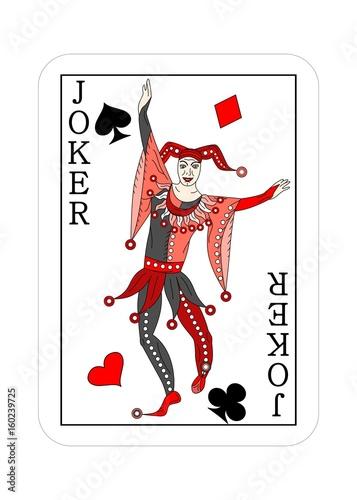 Photo joker playing cards