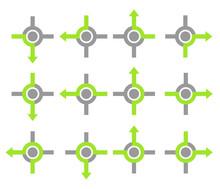 Rond-point Symbole