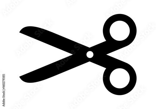Fototapeta nożyczki ikona  obraz