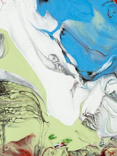 niebiesko-bialo-zielona-abstr