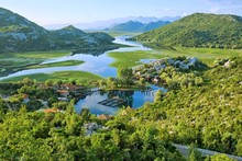 Lake Skadar Park In Montenegro