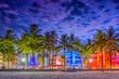 canvas print picture - Miami Beach, Florida, USA