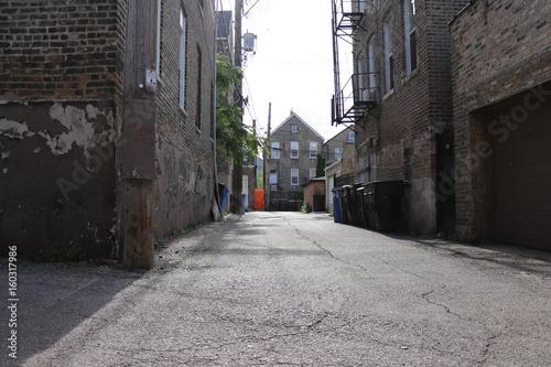Fototapeten Schmale Gasse Looking down the Alley