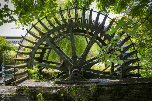 Canvas Prints Mills Watermill in Veules-les-Roses - Normandy (France)