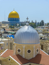 A View On Rooftops Of Old City...